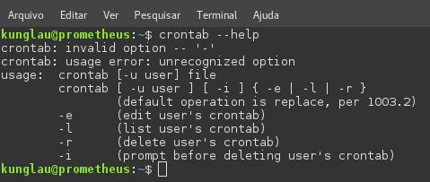 crontab-help